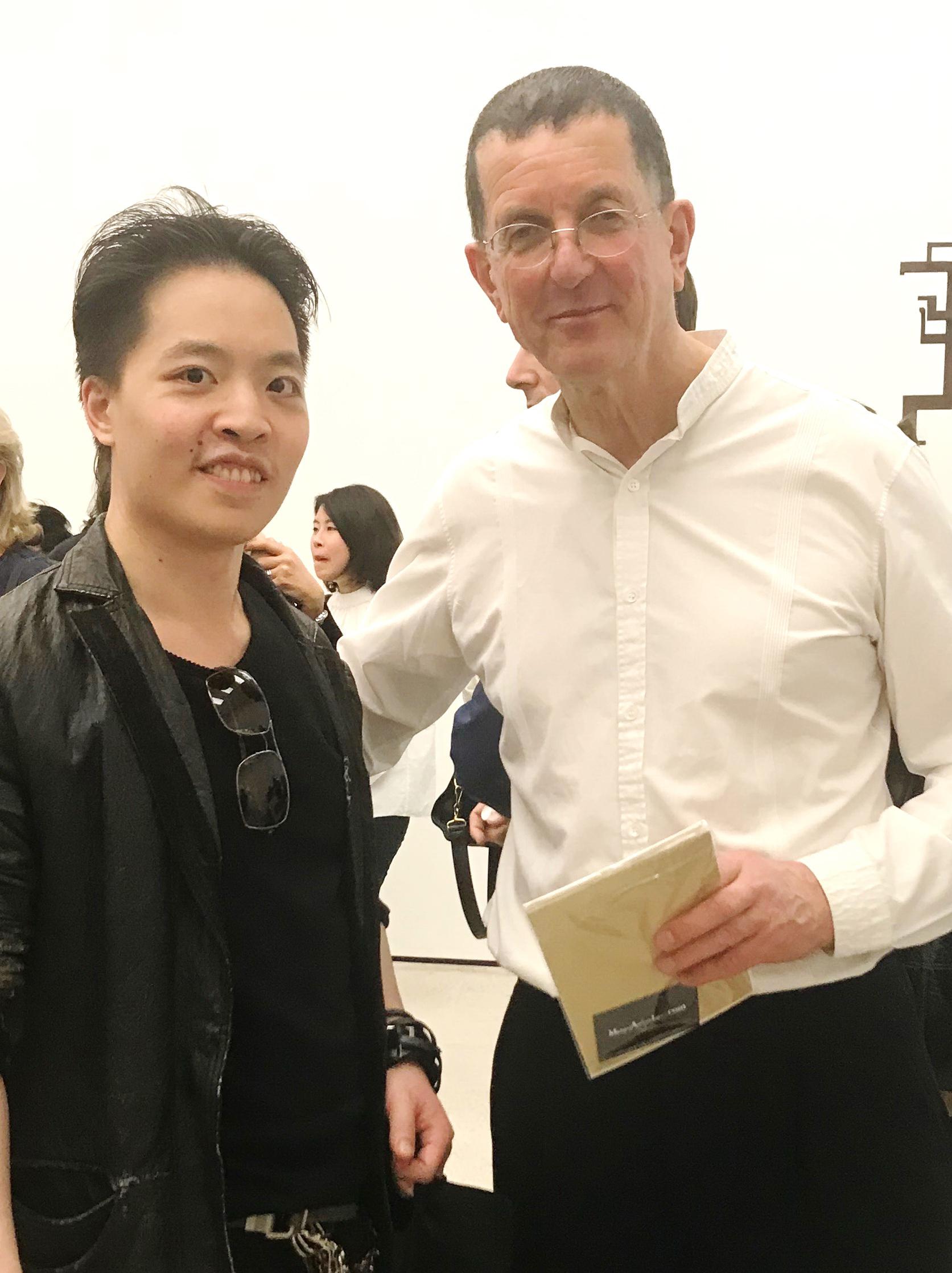 羅卓睿 Michael Andrew Law Cheuk Yui 與著名藝術家 安東尼·戈姆利 Antony Gormley