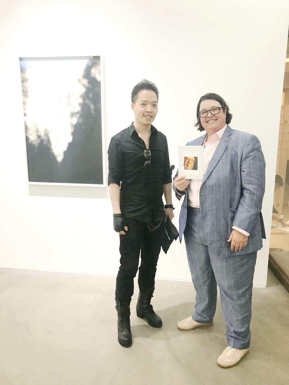 羅卓睿 Michael Andrew Law Cheuk Yui 與著名藝術家 凱瑟琳·奧匹 Catherine Opie