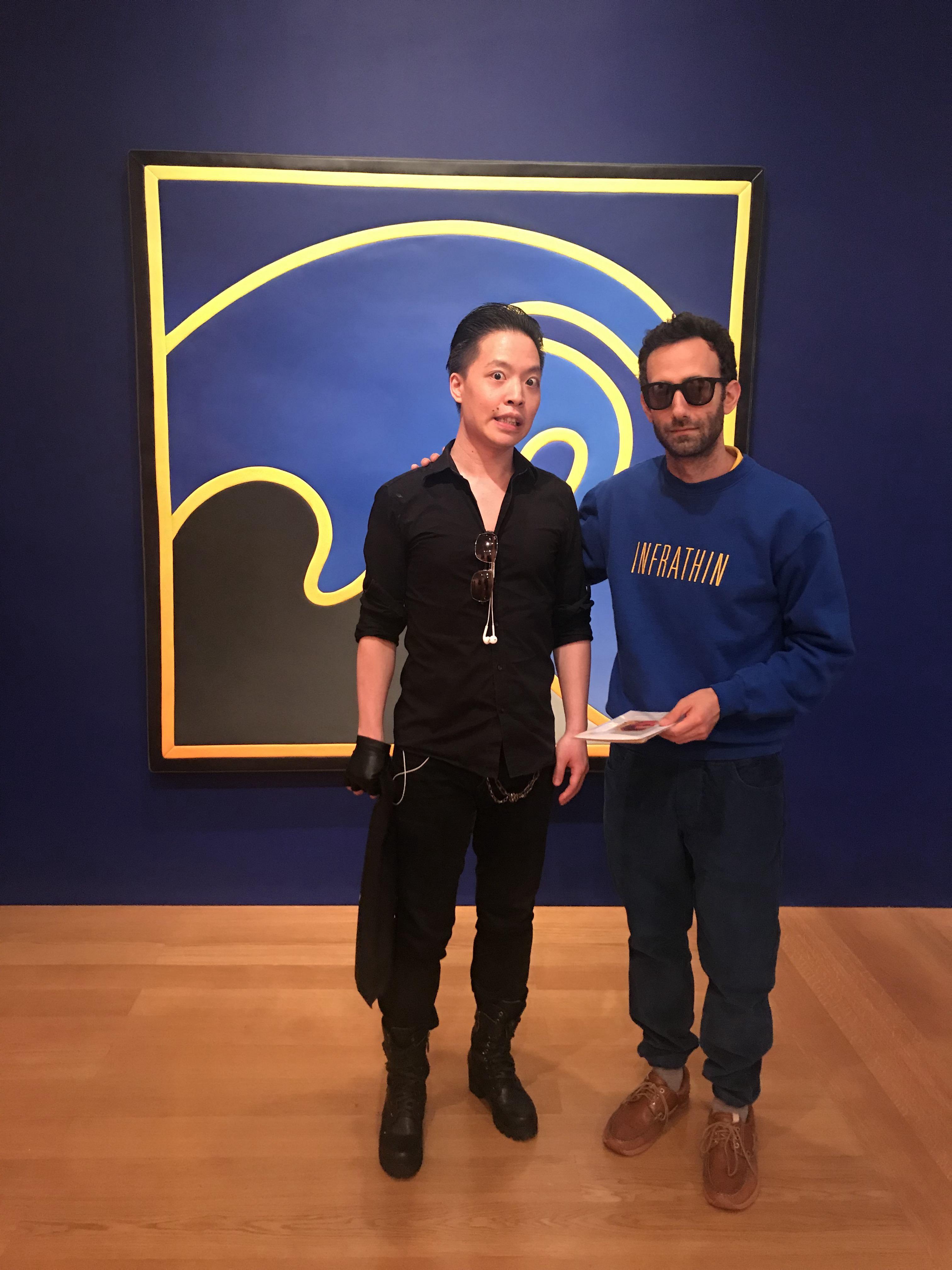 羅卓睿 Michael Andrew Law 與著名藝術家 Alex Israel(亞歷克斯·伊斯雷爾)