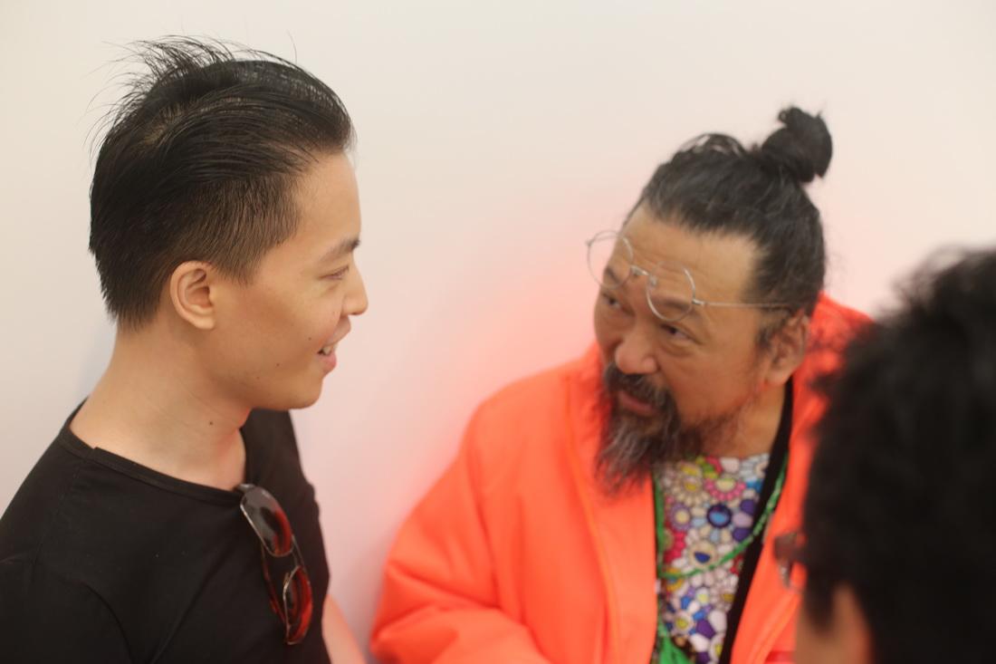 Michael Andrew Law Cheuk Yui ( 羅卓睿 ) Murakami Takashi ( 村上隆 )